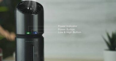 powerology portable ozone air purifier