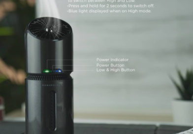 powerology portable ozone air purifier